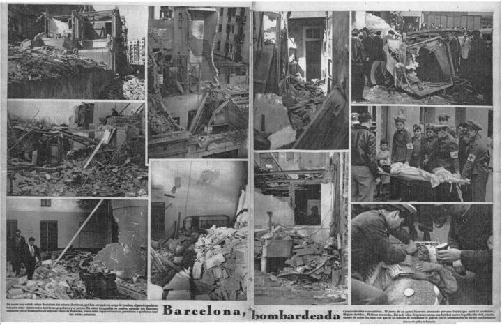 Бомбардировки Барселоны